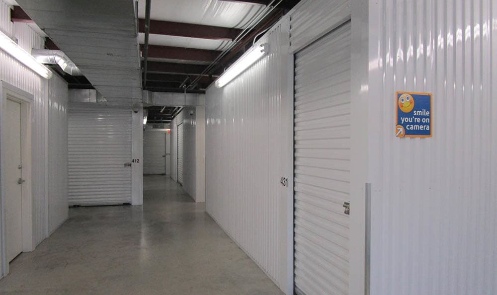 Storage features offered at Compass Self Storage in Fate