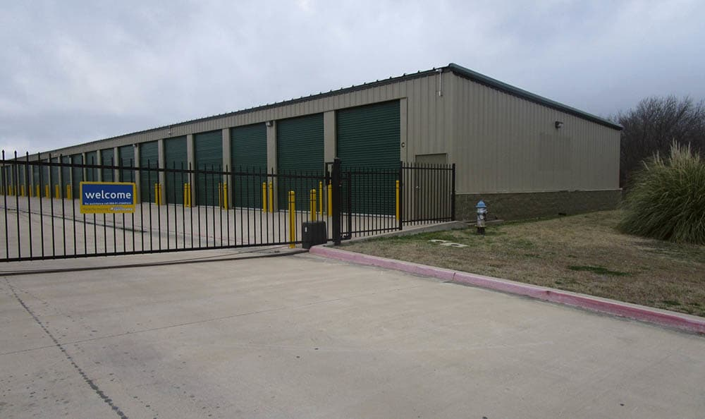 Drive Up Storage Units at Compass Self Storage in Fate, TX