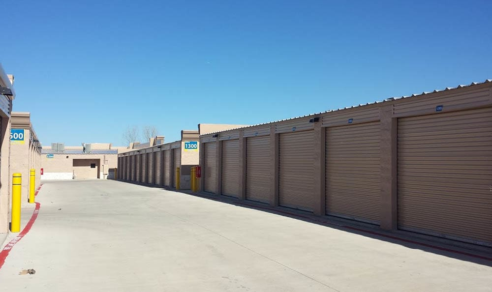 Drive Up Storage Units at Compass Self Storage in Mansfield