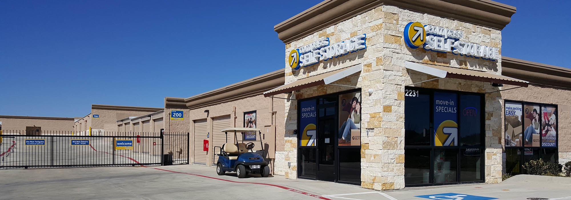 Self storage in Mansfield TX