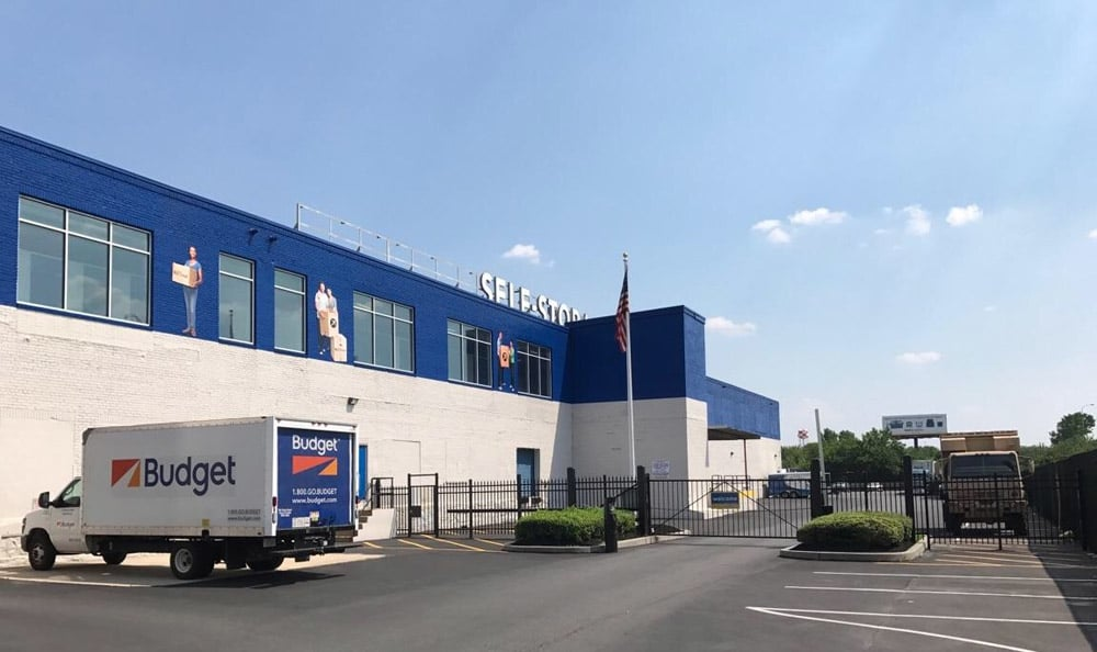 Exterior Of Storage Unit facility at Compass Self Storage in Philadelphia, PA