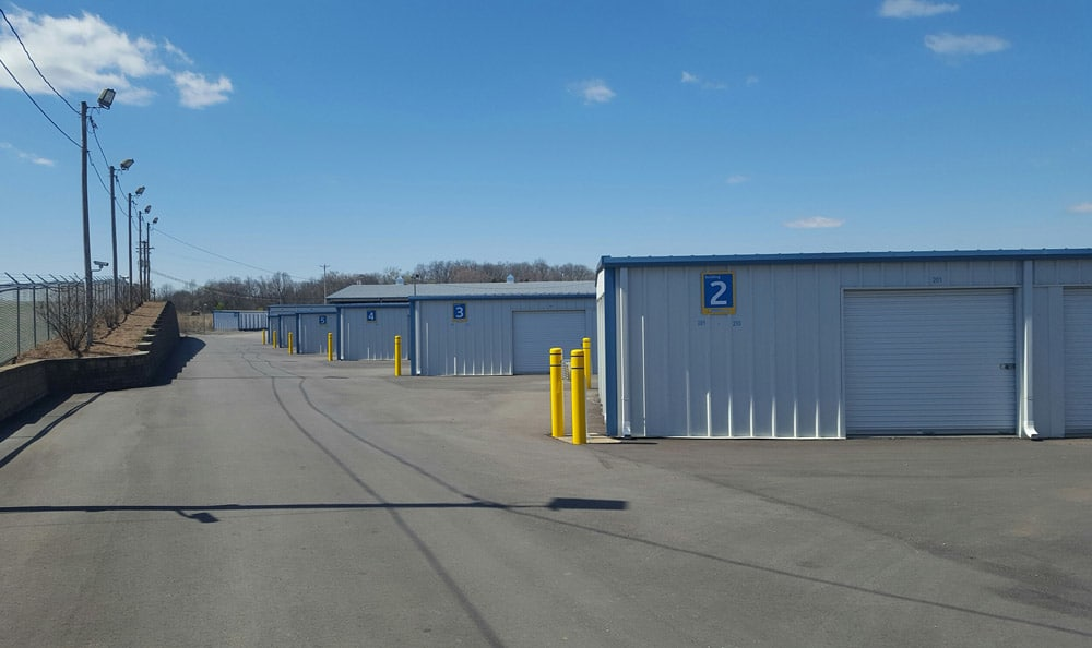 Exterior Units at Compass Self Storage in Shelbyville, TN