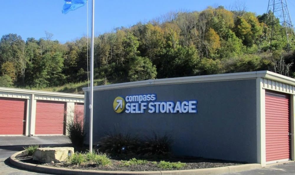 Exterior Units at Compass Self Storage in Cold Spring, KY
