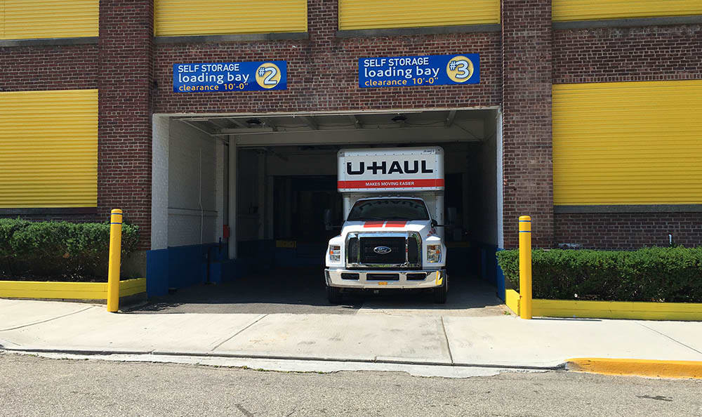 Loading Bay at Compass Self Storage in Bloomfield, NJ