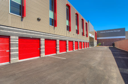 Exterior units at StorQuest Self Storage in Phoenix, AZ