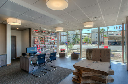 Leasing office at StorQuest Self Storage in Phoenix, AZ