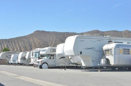 RV and trailer storage at StorQuest Self Storage