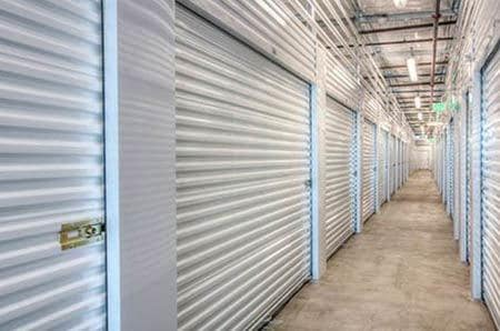 Interior self storage units at StorQuest Self Storage