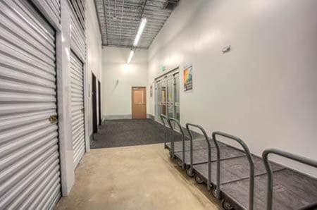 StorQuest Self Storage interior storage units