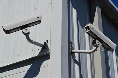 Security cameras at StorQuest Self Storage