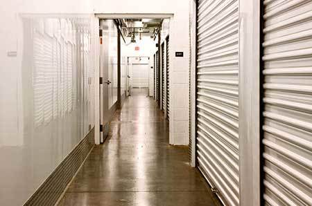 Interior storage units available at StorQuest Self Storage in Panama City, FL