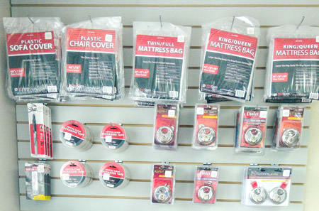 Merchandise at StorQuest Self Storage in Panama City, FL
