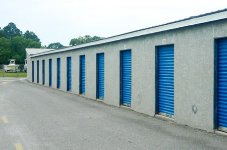 Outdoor Units at StorQuest Self Storage in Panama City, FL