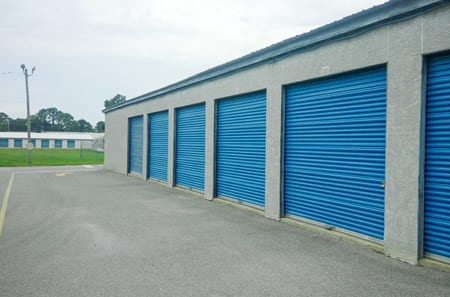 Drive Up Units at StorQuest Self Storage in Panama City, FL