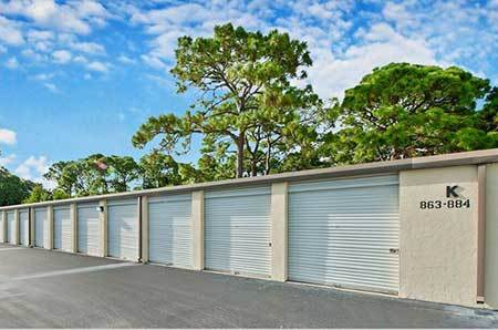 Sizes and prices of Bradenton self storage units
