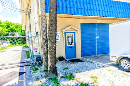 Office Entrance at StorQuest Self Storage in Naples, FL