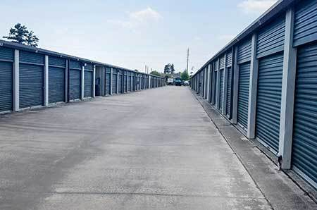 Sizes and prices of Tomball self storage units