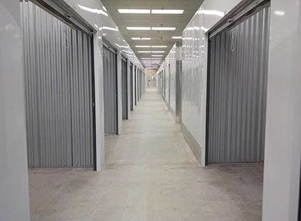 Sizes and prices of Indio self storage units