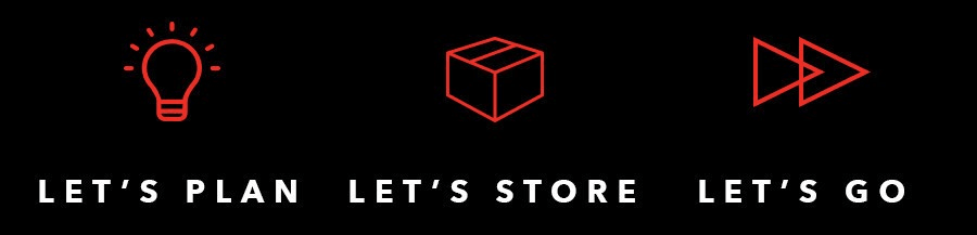 Let's Plan Let's Store Let's Go at StorQuest Self Storage