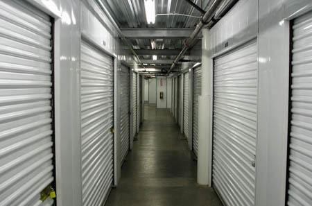 Interior storage units at StorQuest Self Storage in Oakland