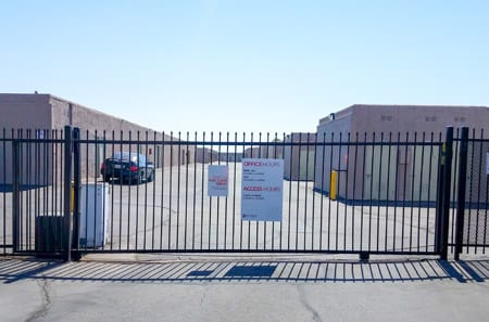 Storage Units at StorQuest Self Storage in Palm Springs