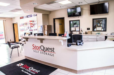 Leasing Office at StorQuest Self Storage in Parker, CO