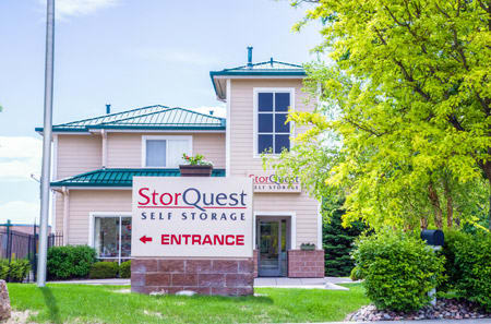 Entrance Sign at StorQuest Self Storage in Parker, CO