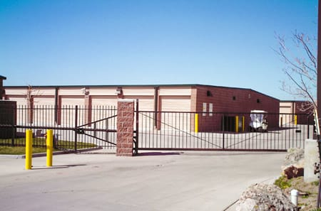 Gated entrance at StorQuest Self Storage in Parker, CO
