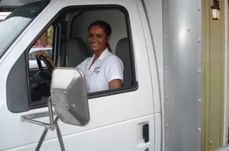 Friendly staff and drivers at StorQuest Self Storage
