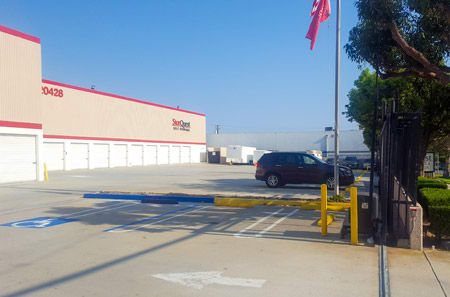 Exterior Units at StorQuest Self Storage in Torrance, CA