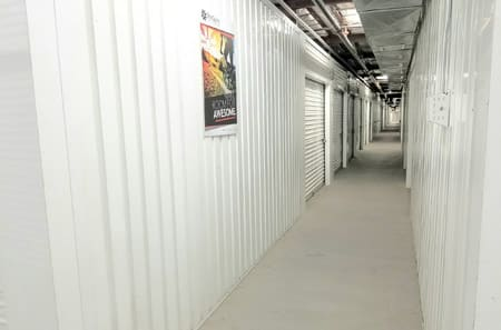 Interior of facility at StorQuest Self Storage in La Quinta, CA