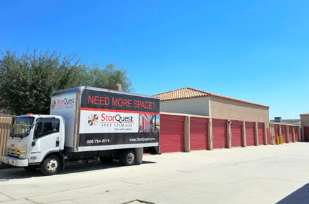 Moving Truck at StorQuest Self Storage in La Quinta, CA