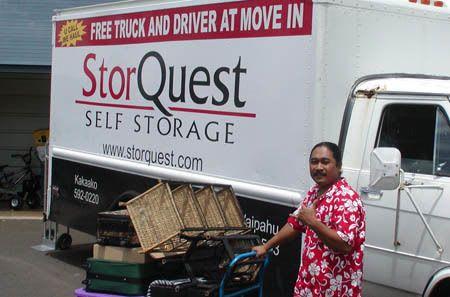 Honolulu moving truck