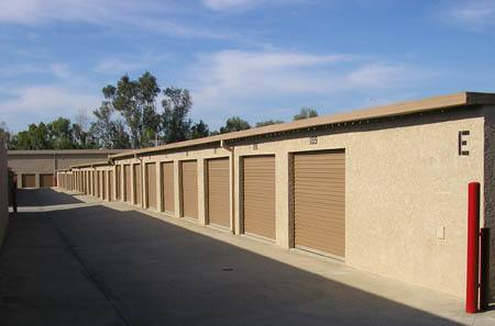 Exterior Units at StorQuest Self Storage in San Fernando, CA