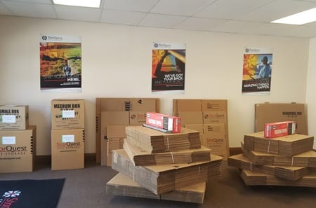 Riverside packing and moving supplies for self storage
