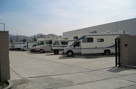 RV Storage at StorQuest Self Storage in Riverside, CA
