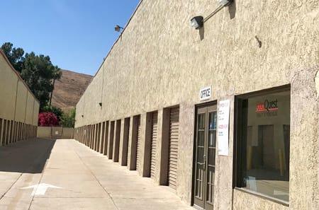 Driveway at StorQuest Self Storage in Riverside, CA