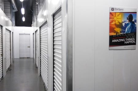 Indio self storage facility interior units