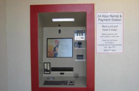 Phoenix self storage kiosk