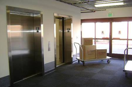 Interior elevators for self storage units in Thousand Oaks