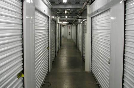 Interior self storage hallways in Thousand Oaks