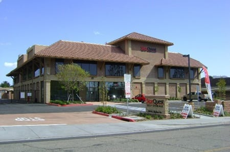 Exterior view of StorQuest Self Storage in Thousand Oaks