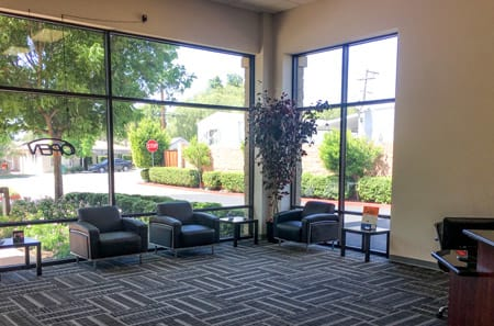 Lobby at StorQuest Self Storage in Thousand Oaks