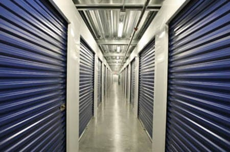 Interior hallway for self storage units in Carlsbad
