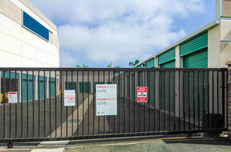 Secure Entrance at StorQuest Self Storage in Carlsbad, CA
