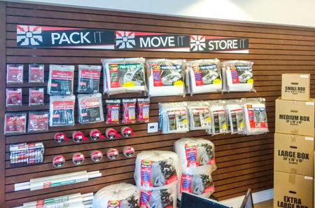 Storage Supplies at StorQuest Self Storage in Carlsbad