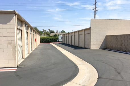 Exterior Units At Storquest Self Storage In Temecula