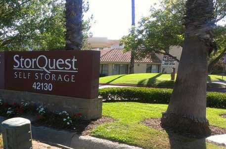 Self Storage Building Exterior In Temecula