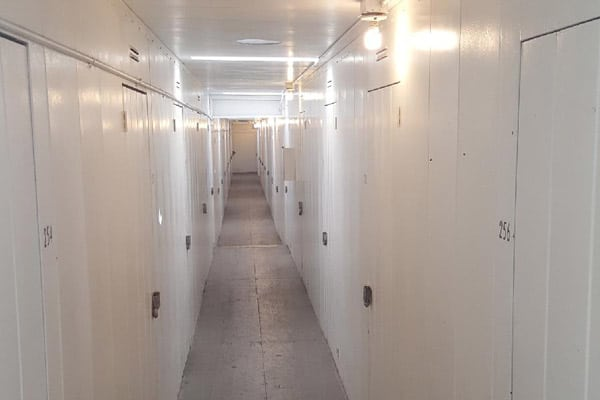 Interior view of units at StorQuest Self Storage in Canoga Park