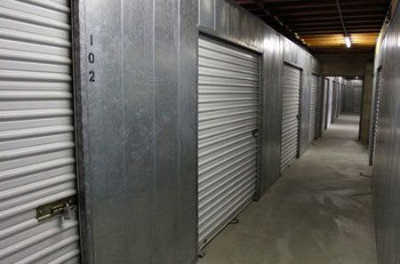 Interior hallway for self storage units in Westlake Village